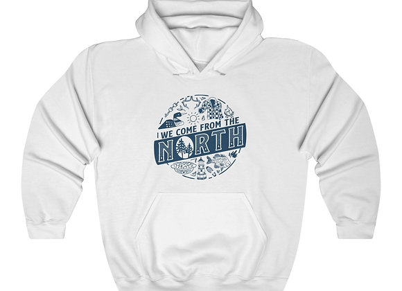 We Come from the North Unisex Hooded Sweatshirt