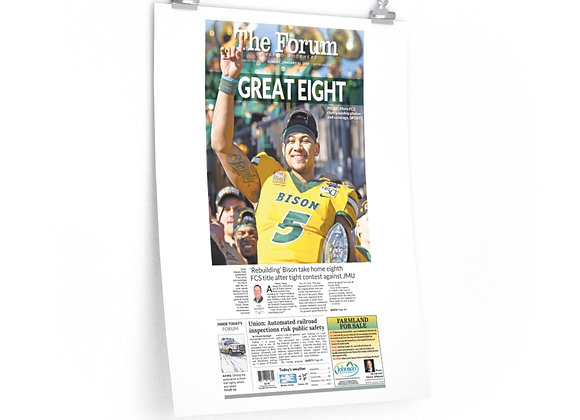 January 12, 2020 Forum Poster - Bison Secure 8th FCS Title