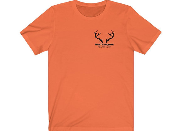 ND White Tail Unisex Tee - Front/Back