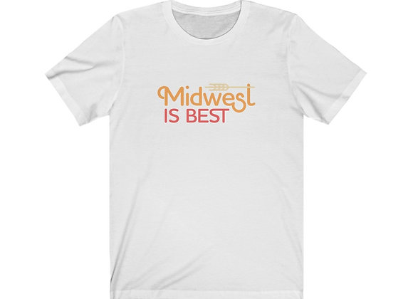 Midwest is Best Unisex Tee