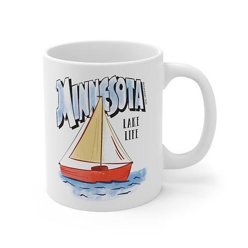 MN Lake Life Destinations Mug