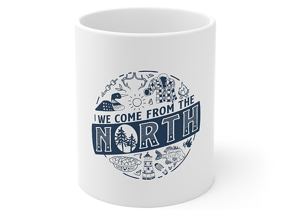 We Come from the North Mug