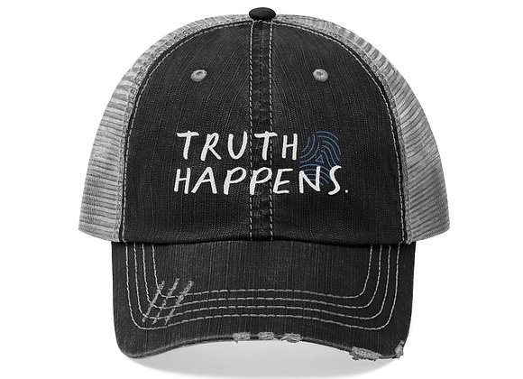 Truth Happens Trucker Hat