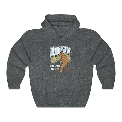 Bigfoot Destinations Unisex Hoodie