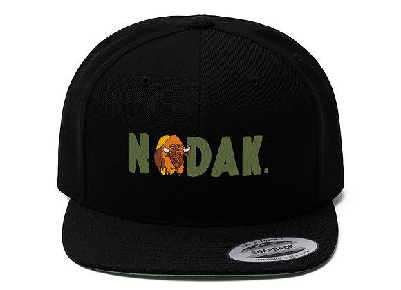 NoDak Flat Bill Baseball Cap