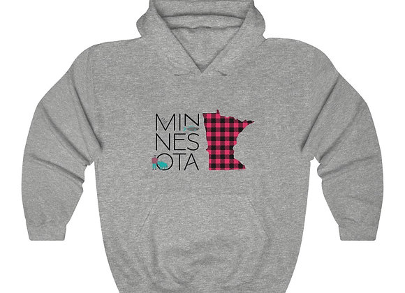 Minnesota Unisex Hooded Sweatshirt