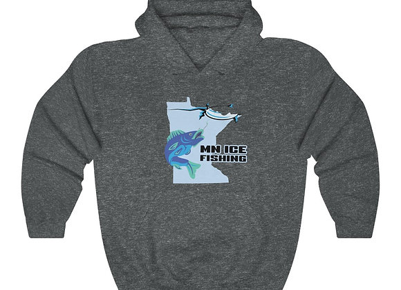 MN Ice Fishing Unisex Hoodie