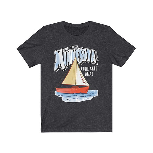 Detroit Lakes Sail Destinations Unisex Tee
