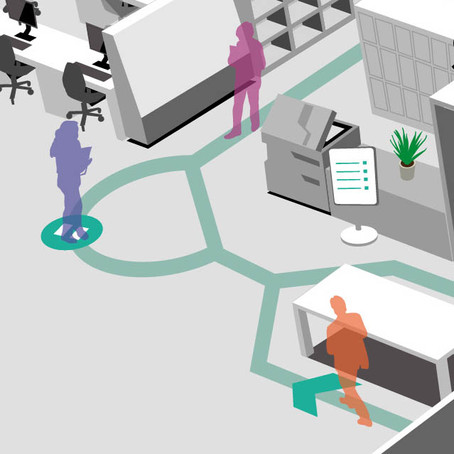 THE COVID-SECURE OFFICE : SPATIAL CONSIDERATIONS