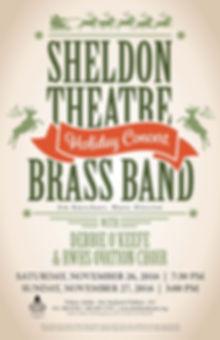 Sheldon Thatre Brass Band - Concert on Saturday, November 26, 2016 & Sunday, November 27, 2016
