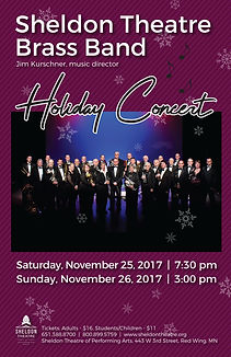 Sheldon Thatre Brass Band - Concert on Saturday, November 25, 2017 and Sunday, November 26, 2017