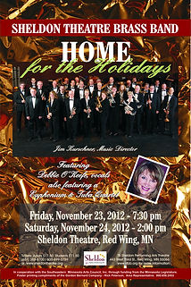 Sheldon Thatre Brass Band - Concert on Saturday, November 23, 2012 and Sunday, November 24, 2012