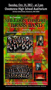 Sheldon Theatre Brass Band - Owatonna High School Concert 2012