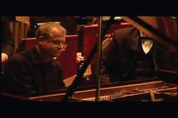 Jim playing Rhapsody in Blue