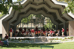 Red Wing Band Shell concert