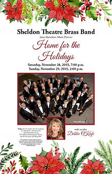 Sheldon Thatre Brass Band - Concert on Saturday, November, 28, 2015 and Sunay, Novmber 29, 2015
