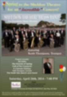 Sheldon Thatre Brass Band - Concert on Saturday April 26, 2014