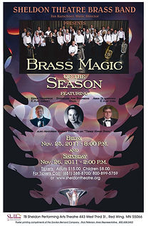 Sheldon Theatre Brass Band - Holiday Concerts Friday, November 25, 2011 and Saturday, November 26, 2011