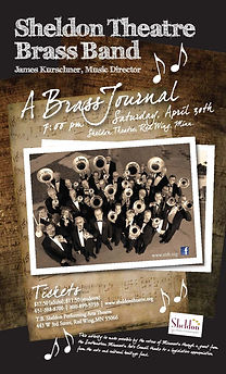 Sheldon Thatre Brass Band - Concert on Saturday April 30, 2016