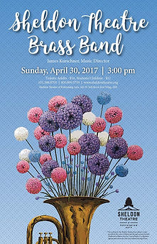 Sheldon Thatre Brass Band - Concert on Sunday April 30, 2017