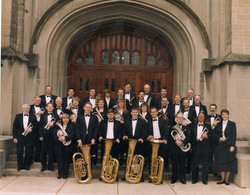 After a concert in Northfield, 1996