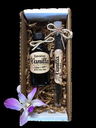 Gourmet Hawaiian Vanilla Aloha Gift Box Set