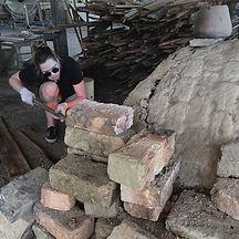 Carragh Amos anagama woodfiring pottery