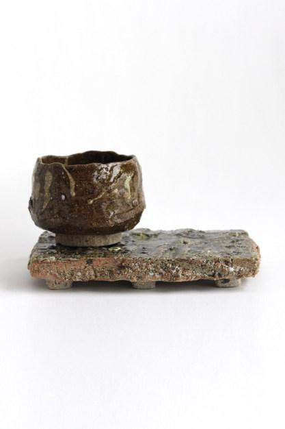 Tea Set in Olive