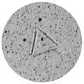 Carragh Amos Triangle potters mark makers stamp.