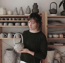 Carragh Amos Ceramics with Teapot