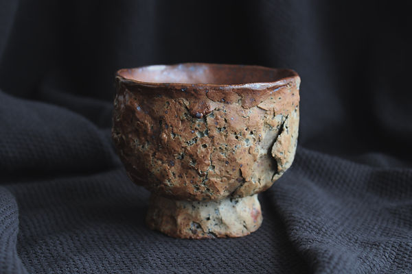 1. Carragh Amos. Chawan. 2019. Unglazed