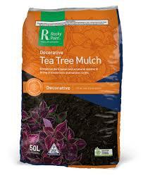 Premium Tea Tree Mulch Bale