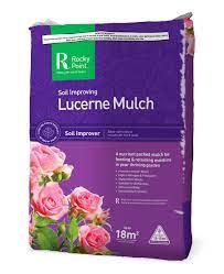 Lucerne Mulch Bale