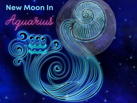 New Moon in Aquarius 2021
