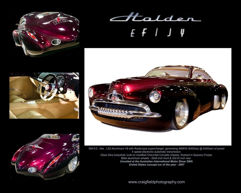2005 Holden Efijy