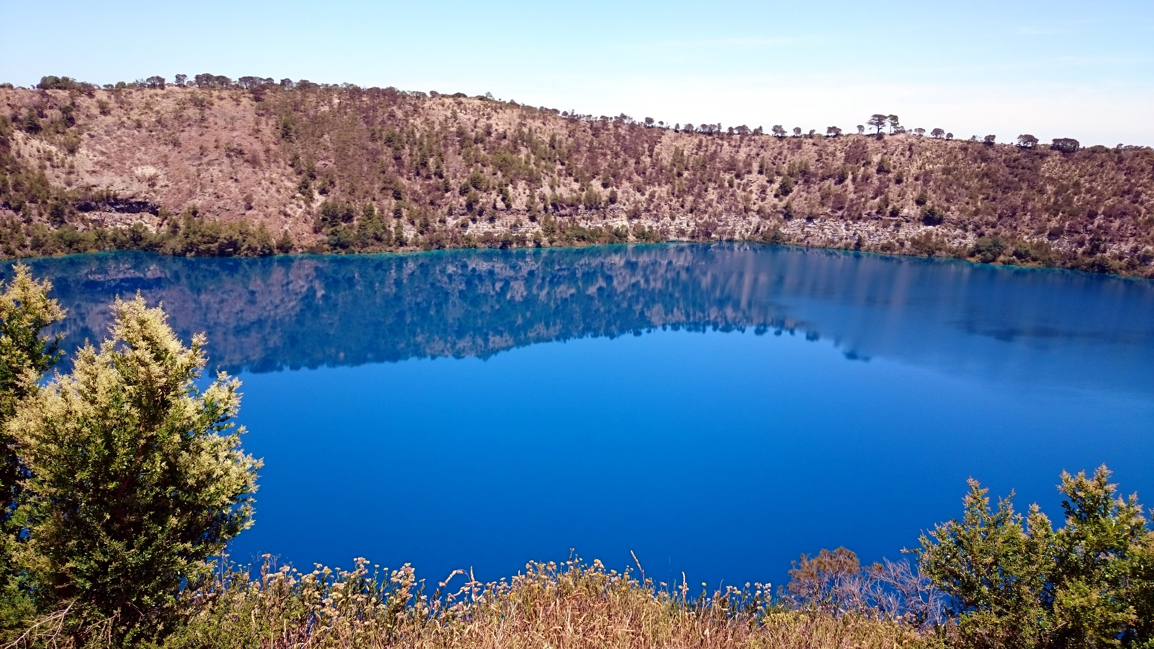 Blue Lake Mount Gambier by Marion Manuel
