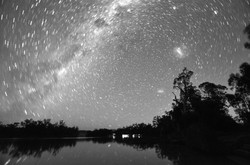 TASHA MUNRO Starry night over the Murray