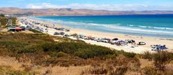 Silver Sands on Australia day - bronwyn