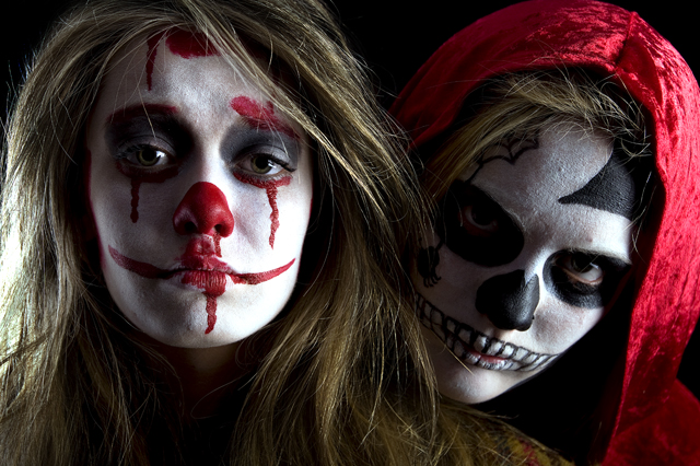 Dead Riding Hood and Clown