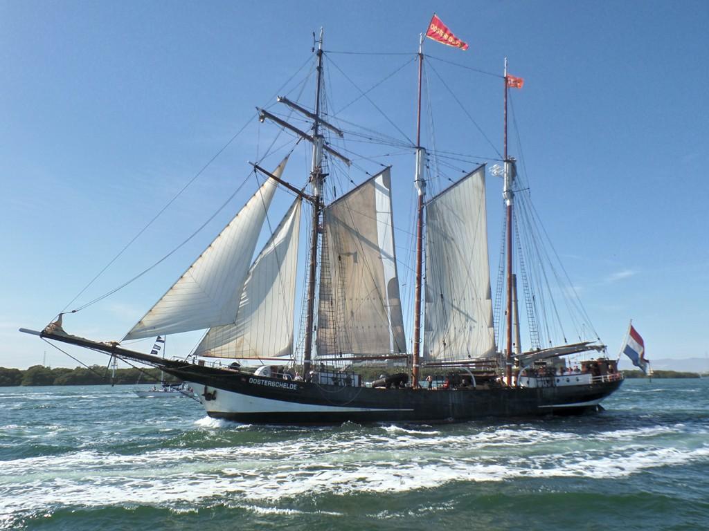 The Oosterschelde Tall Ship