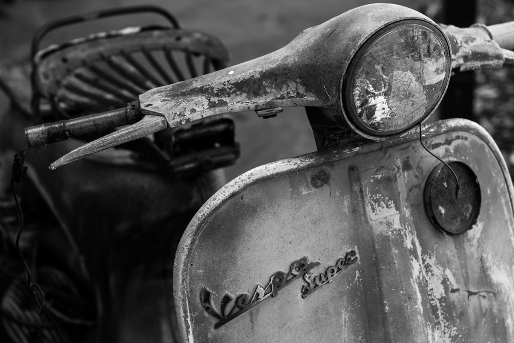 Craig Douglas Vintage Vespa