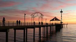 Sunset _ Brighton - Elizabeth Doecke