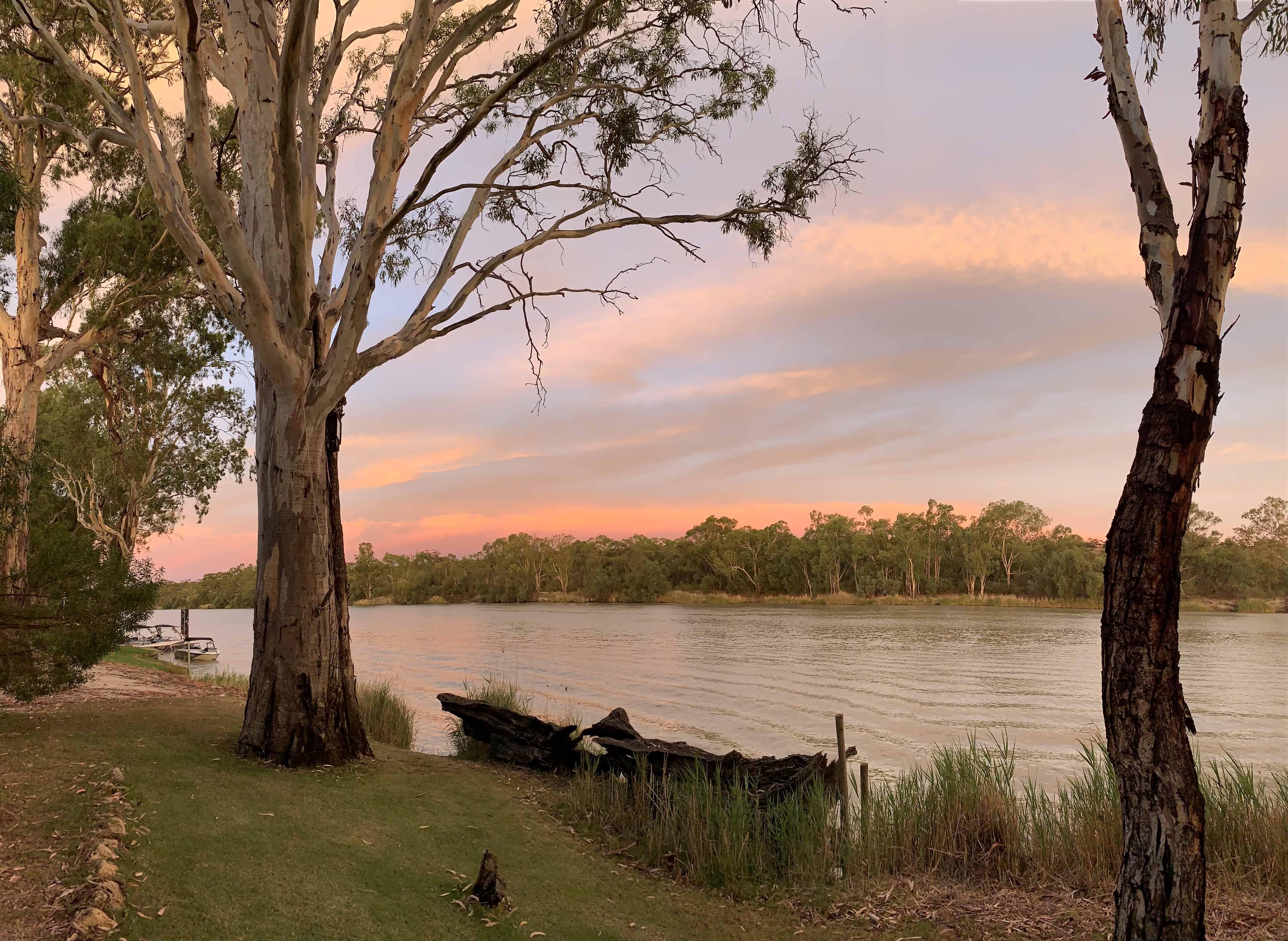 Tasha Munro - River Sunset