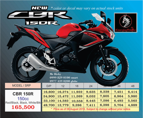The All New CBR150R Is Hondas Latest Super Bike With Its Outstanding Features Sporty Look And Sleek Style Be A Force To Reckoned On Road