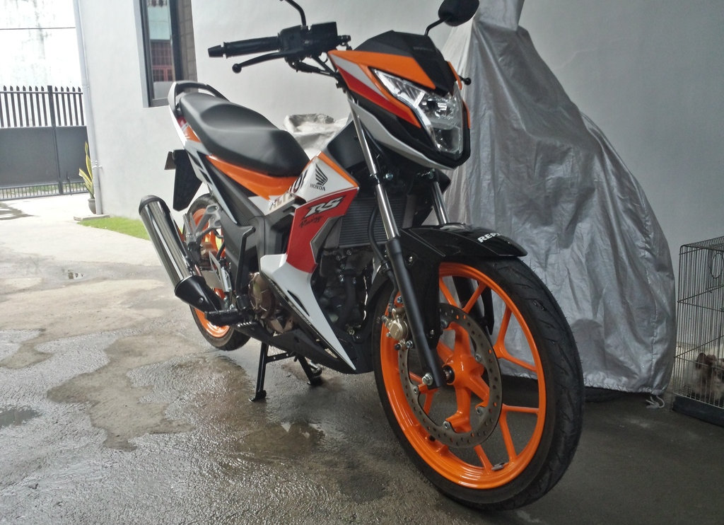 HONDA RS150 REPSOL LIMITED EDITION - only php9,700 dp!