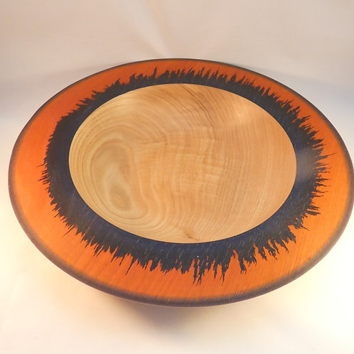 Wooden Bowl made English Chestnut wood handcrafted in rural Glos