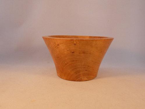 Wooden Bowl made from English Alder wood handturned in Devon