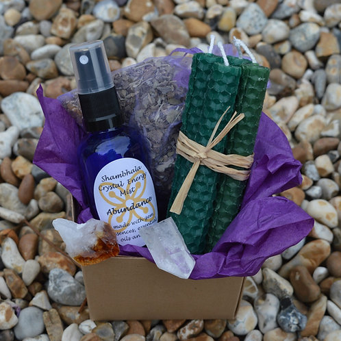 Attracting Abundance Ritual Kit with Instructions