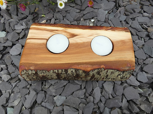 Wooden Night Light Holder from English Plum Wood