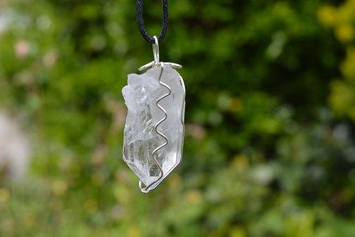 Phantom Spirit Shaman Quartz Crystal Pendant or Amulet